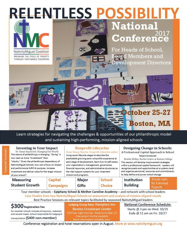 NMC National Conference Fall 2017 Flyer